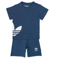 Odjeća Dječak  Dječji kompleti adidas Originals CYLIA Blue