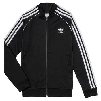 Odjeća Djeca Gornji dijelovi trenirke adidas Originals LYAM Crna