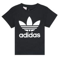 Odjeća Djeca Majice kratkih rukava adidas Originals LEILA Crna