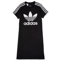 Odjeća Djevojčica Kratke haljine adidas Originals SALOME Crna
