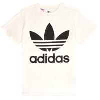 Odjeća Djeca Majice kratkih rukava adidas Originals TREFOIL TEE Bijela