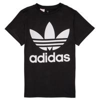 Odjeća Djeca Majice kratkih rukava adidas Originals MAXENCE Crna