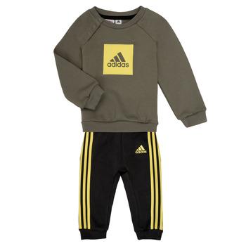 Odjeća Dječak  Dječji kompleti adidas Performance MERLO Siva / Žuta