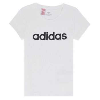 Odjeća Djevojčica Majice kratkih rukava adidas Performance NELIZO Bijela