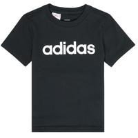 Odjeća Dječak  Majice kratkih rukava adidas Performance NATAZO Crna