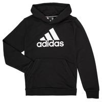 Odjeća Dječak  Sportske majice adidas Performance MANEZ Crna