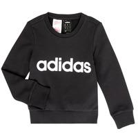 Odjeća Djevojčica Sportske majice adidas Performance MED Crna