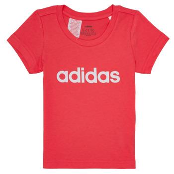Odjeća Djevojčica Majice kratkih rukava adidas Performance MAKIT Ružičasta