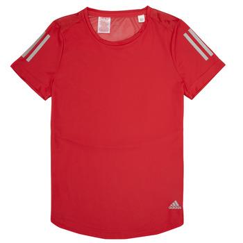 Odjeća Djevojčica Majice kratkih rukava adidas Performance MELINDA Red