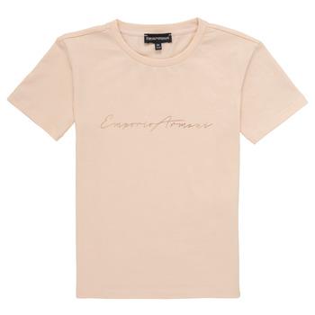 Odjeća Djevojčica Majice kratkih rukava Emporio Armani Armel Ružičasta