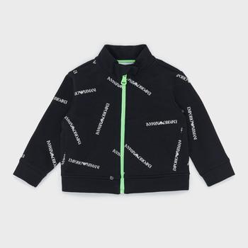 Odjeća Dječak  Sportske majice Emporio Armani Augustin Crna