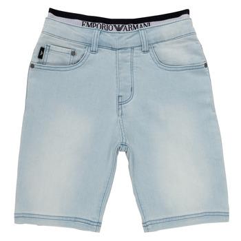 Odjeća Dječak  Bermude i kratke hlače Emporio Armani Albert Blue