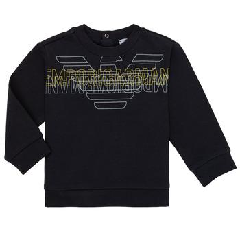 Odjeća Dječak  Sportske majice Emporio Armani Antony Crna