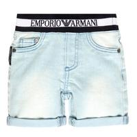 Odjeća Dječak  Bermude i kratke hlače Emporio Armani Ariel Blue