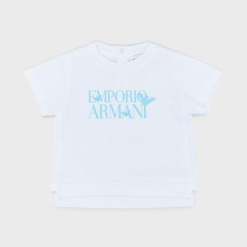 Odjeća Dječak  Majice kratkih rukava Emporio Armani Arthus Bijela