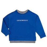 Odjeća Dječak  Sportske majice Emporio Armani Aurèle Blue