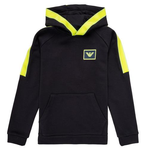 Odjeća Dječak  Sportske majice Emporio Armani Abel Zelena