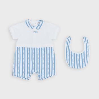 Odjeća Dječak  Kombinezoni i tregerice Emporio Armani Adam Blue