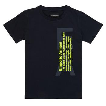 Odjeća Dječak  Majice kratkih rukava Emporio Armani Andoni Blue