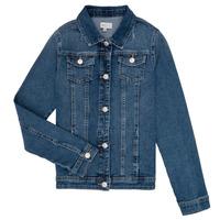 Odjeća Djevojčica Traper jakne Only KONSARA Blue