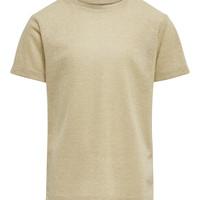 Odjeća Djevojčica Majice kratkih rukava Only KONSILVERY Gold