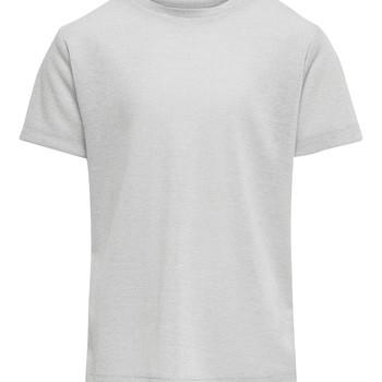 Odjeća Djevojčica Majice kratkih rukava Only KONSILVERY Srebrna