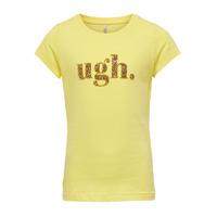 Odjeća Djevojčica Majice kratkih rukava Only KONJULLA Žuta