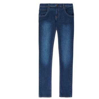 Odjeća Dječak  Slim traperice Name it NITTAX Blue