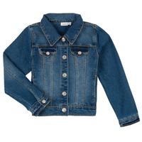 Odjeća Dječak  Traper jakne Name it NITSTAR RIKA Blue