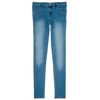 Odjeća Djevojčica Slim traperice Name it NKF POLLY DNMTASIS Blue