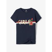 Odjeća Djevojčica Majice kratkih rukava Name it NKFBARBRA Blue