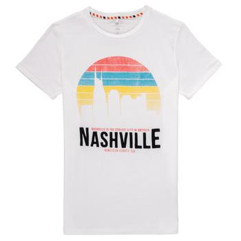 Odjeća Dječak  Majice kratkih rukava Name it NKMDPOPS Bijela
