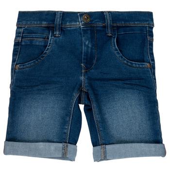 Odjeća Djevojčica Bermude i kratke hlače Name it NKMSOFUS Blue