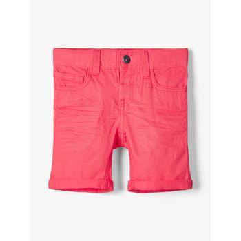 Odjeća Dječak  Bermude i kratke hlače Name it NMMSOFUS TWIISKA Red