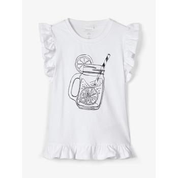 Odjeća Djevojčica Majice s naramenicama i majice bez rukava Name it NKFZELANA Bijela