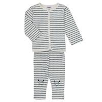 Odjeća Dječak  Dječji kompleti Noukie's KAIS Bijela