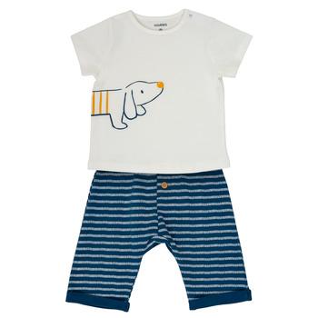 Odjeća Dječak  Dječji kompleti Noukie's MALO Bijela