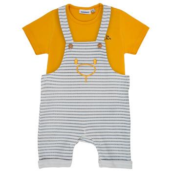 Odjeća Dječak  Dječji kompleti Noukie's YOUSSEF Žuta