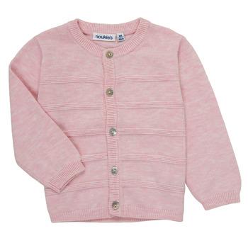 Odjeća Djevojčica Veste i kardigani Noukie's NOAM Ružičasta