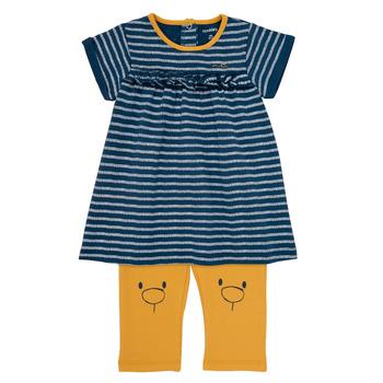Odjeća Djevojčica Kratke haljine Noukie's AYOUB Blue / Žuta
