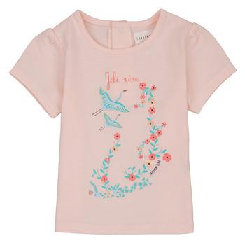 Odjeća Djevojčica Majice kratkih rukava Carrément Beau NOLAN Ružičasta