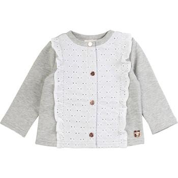 Odjeća Djevojčica Veste i kardigani Carrément Beau ISA Siva