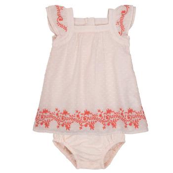 Odjeća Djevojčica Kratke haljine Carrément Beau SAMY Ružičasta