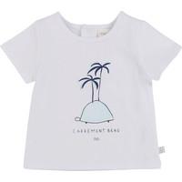 Odjeća Dječak  Majice kratkih rukava Carrément Beau MARTINEZ Bijela