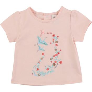 Odjeća Djevojčica Majice kratkih rukava Carrément Beau JUSTINE Ružičasta