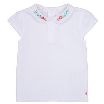 Odjeća Djevojčica Majice kratkih rukava Carrément Beau JULIEN Bijela