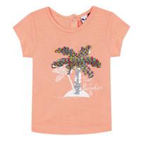 Odjeća Djevojčica Majice kratkih rukava 3 Pommes EMMA Narančasta