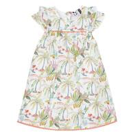 Odjeća Djevojčica Kratke haljine 3 Pommes SANDRINE Bijela