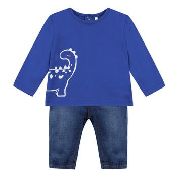 Odjeća Dječak  Dječji kompleti 3 Pommes GABRIEL Blue