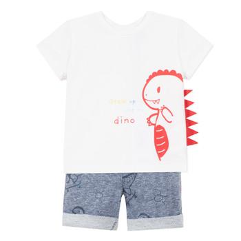 Odjeća Dječak  Dječji kompleti 3 Pommes ANOUCK Bijela